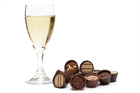 Chocolate and Champagne Oxygen Facial Photo